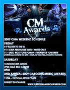 CMA Schedule Poster