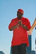 TUMCHEE AT NORTH AVE. BEACH SHOOTING HIS VIDEO