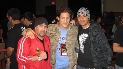 ERIC, UFC FIGHTER DIEGO SANCHEZ AND JON IN VEGAS!