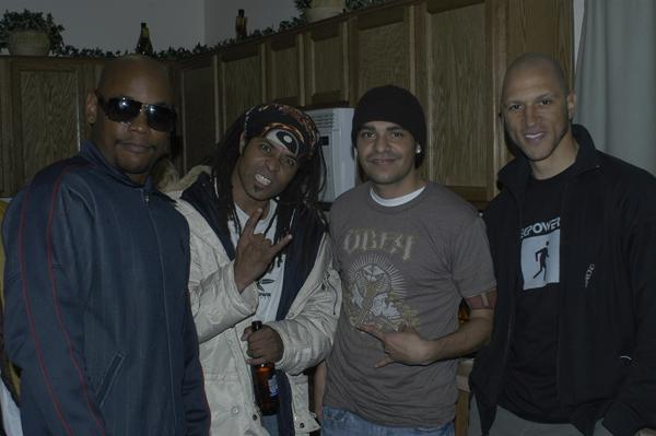 BOKEEM WOODBINE AND HIS BAND AT MY HOUSE IN ALBUQUERQUE!