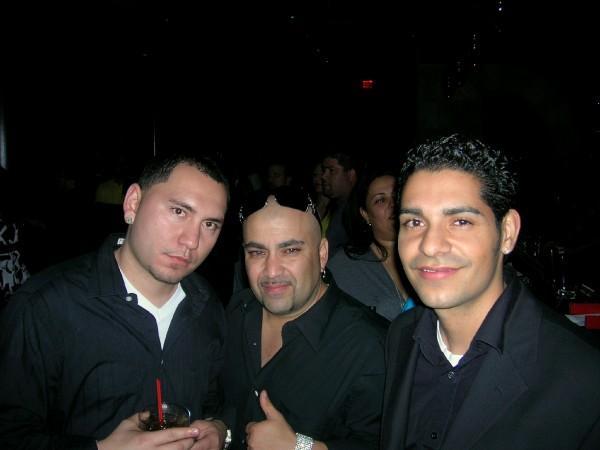 JOSH, ERIC AND JON IN NY AT BUN B ALBUM PARTY!
