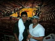 JON AND ERIC IN MIAMI FOR A HEAT GAME!