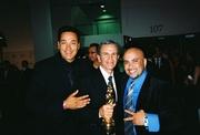 SABINO VILLALOBOS, TONY PLANA AND ERIC AT THE ALMA AWARDS IN LA!