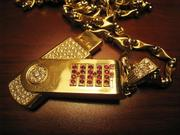 HipHopFriends Custom Diamond USB Drive Charm