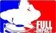 Full Impact Djs Logo