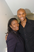 Char and  Kenny Latimore