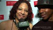 Being interviewed @ The 2008 DJ Stylus Awards