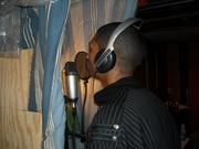J. Scarlett in the Studio