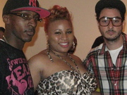 ReDoubleD with Ant Rich of Jive Records and SEV tha Producer