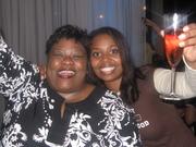 Katt Boogie with Industry Accountant Dee Dee in VIP Section