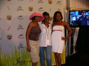 THE BOSS MRS. SUNNY & MS PERSONALITY & FCP MODEL/FCP TV HOST MS LULU BACKSTAGE @JAZZ N THE GARDENS