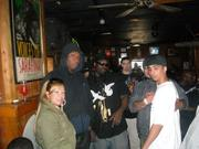 """""""KRS ONE"""", """"THA GOD"""", """"REALIST RICKEN"""" AND FEMALE PANELIST NEXT TO """"KRS ONE"""""""