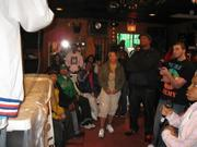 """""""KRS ONE"""" LISTING TO THA PANELIST ON STAGE ON HIP HOP APPRECIATION DAY"""