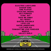The Atari Ferrari - Milan Knights (tracklist)