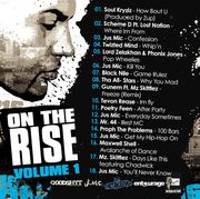 On The Rise Vol. 1 (Back)