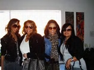 """AT THE """"GLAM EXPERIENCE"""" W/MY DIVAS"""