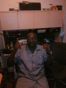"""""""M.C. TROUBLE DEE"""" SAYING WHASSUP'S, TO THE HIP-HOP WORLD"""