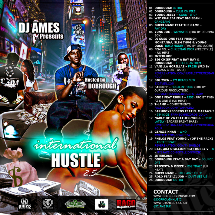 Dj Ames International Hustle2.5 hosted By dorrough