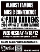 #ALMOST FAMOUS MUSIC CONFERENCE