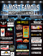 MEDIA ROSTOR/#ALMOST FAMOUS MUSIC CONFERENCE