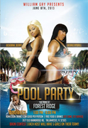 NFL Pool Party