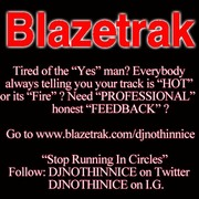 BLAZETRAK ADVERTISEMENT LOGO