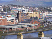 Derry View from the Waterside