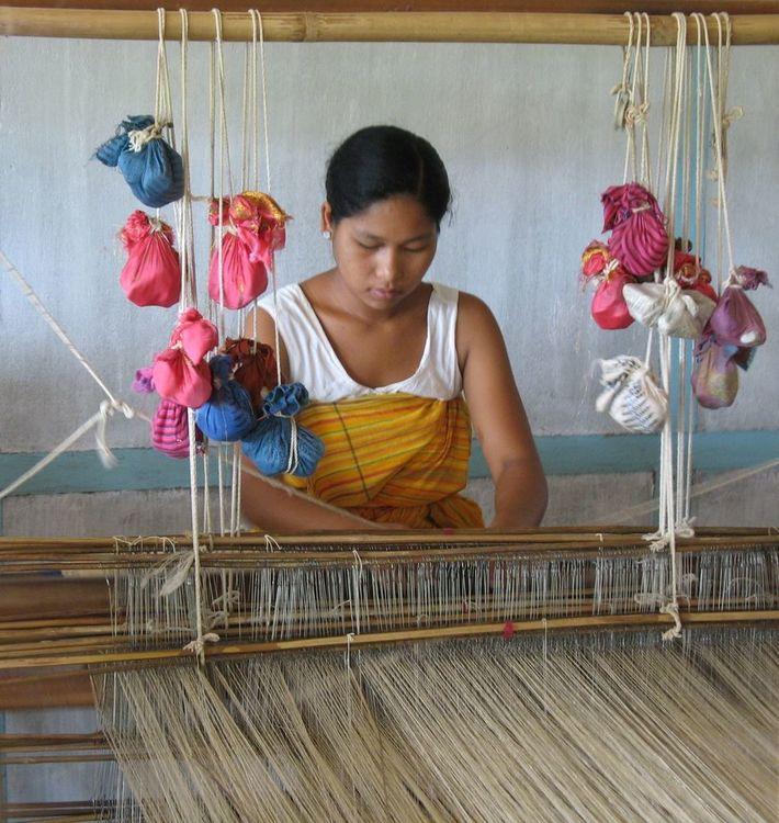 Nogaya Peace Silk Weaver from Assam