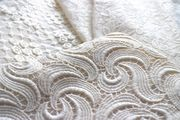 Modespitze Germany - GOTS certified cotton lace - allover