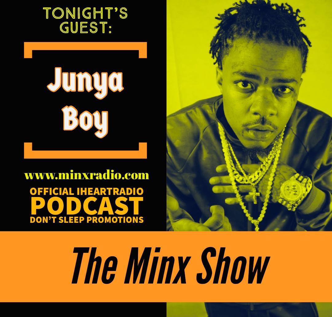 "The Minx Show Interviews ""Junya Boy"""