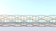 Helix Bridge Side view