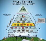Wallstreet follow the money