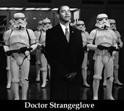 Obama and stormtroopers