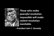 President Kennedy-Revolution