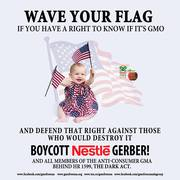 Boycott Kelloggs for GMO's & The DARK ACT