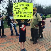 #pedogate #march25 protest outside the White House