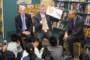"De Blasio's book of choice to read to school children last year? SECRET PIZZA PARTY. ""When you make something secret, you make it special"""