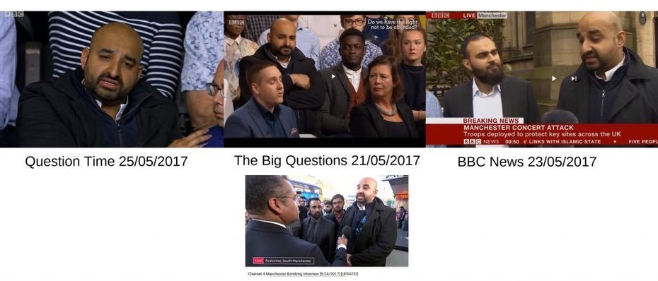 "Why does the BBC have the same ""random"" person at every crisis and discussion?"