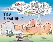 New Ben Garrison: Old Unfaithful Bill