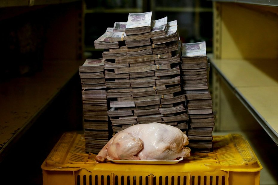 This is how much cash you need to buy a chicken in Venezuela
