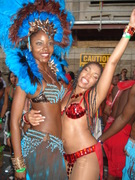 Carnival Tues 2009 Wendy and Destra
