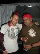 Mania - Chutny Singers Ravi B and Hunter Backstage