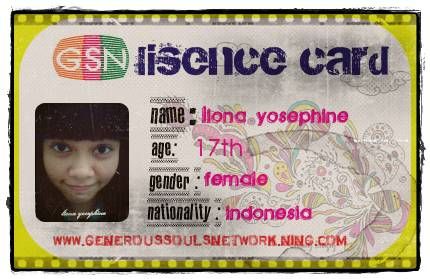 Liona a young Indonesian Girl who has a bright future.