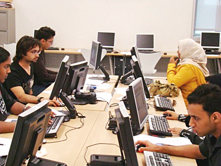 Students working 2