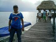 En el Muelle de El Remate en el Lago Peten Itza