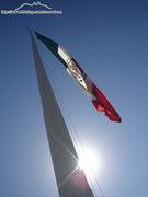 bandera en el obispo