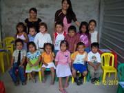 con mis alumnos de la escuela dominical