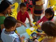 enseñando a mis pequeños alumnos