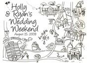 Holly & Ryan's Wedding Weekend Map