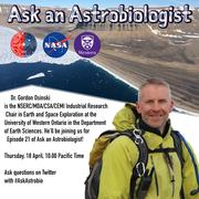 Ask an Astrobiology with Dr. Gordon Osinski - 18 April